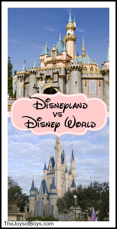 Disneyland vs Disney World