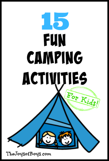 Resource for Fun Camp Activities & Games