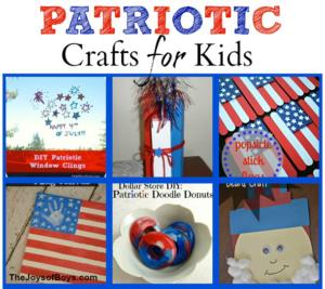 patriotic crafts for kids square