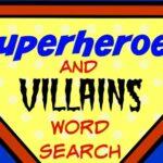 superheroes and villains fb