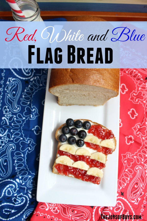 Flag bread