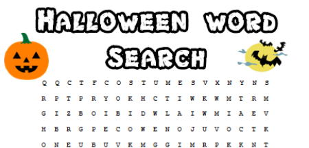 Halloween Word Search - Spooky Fun for a Halloween Party