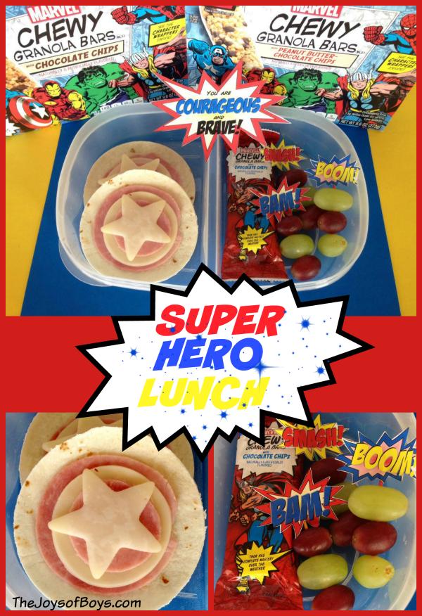 Super Hero Lunch