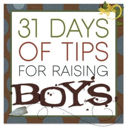 Tips for Raising Boys