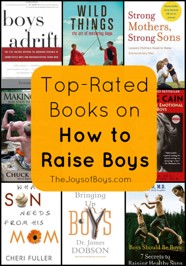Books on how to raise boys
