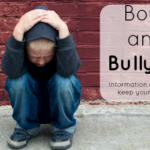 Boys and Bullying information