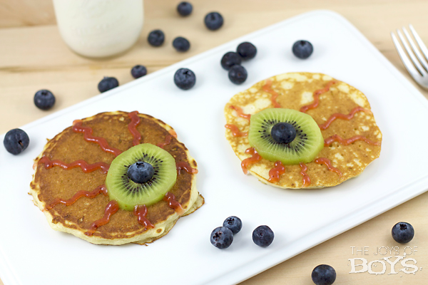 Eyeball Pancakes