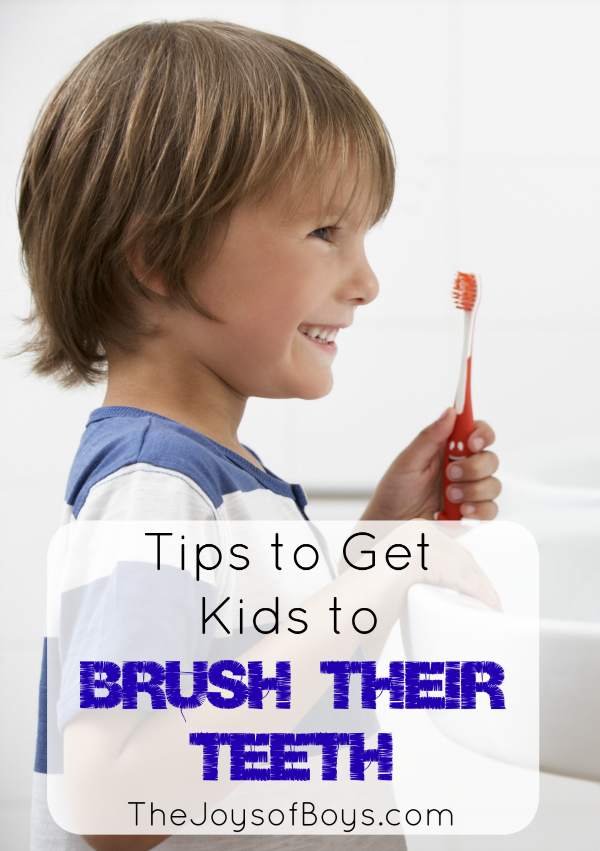 Get Kids to Brush their teeth