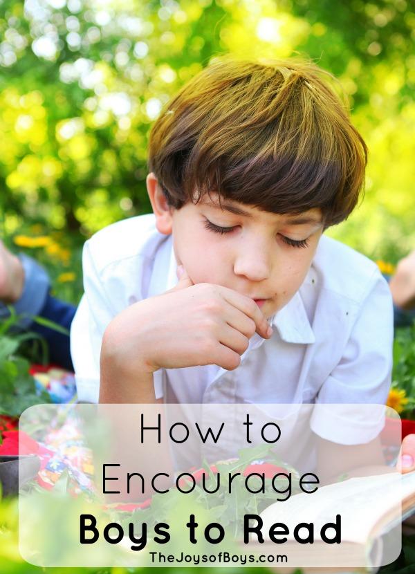 Encourage boys to read