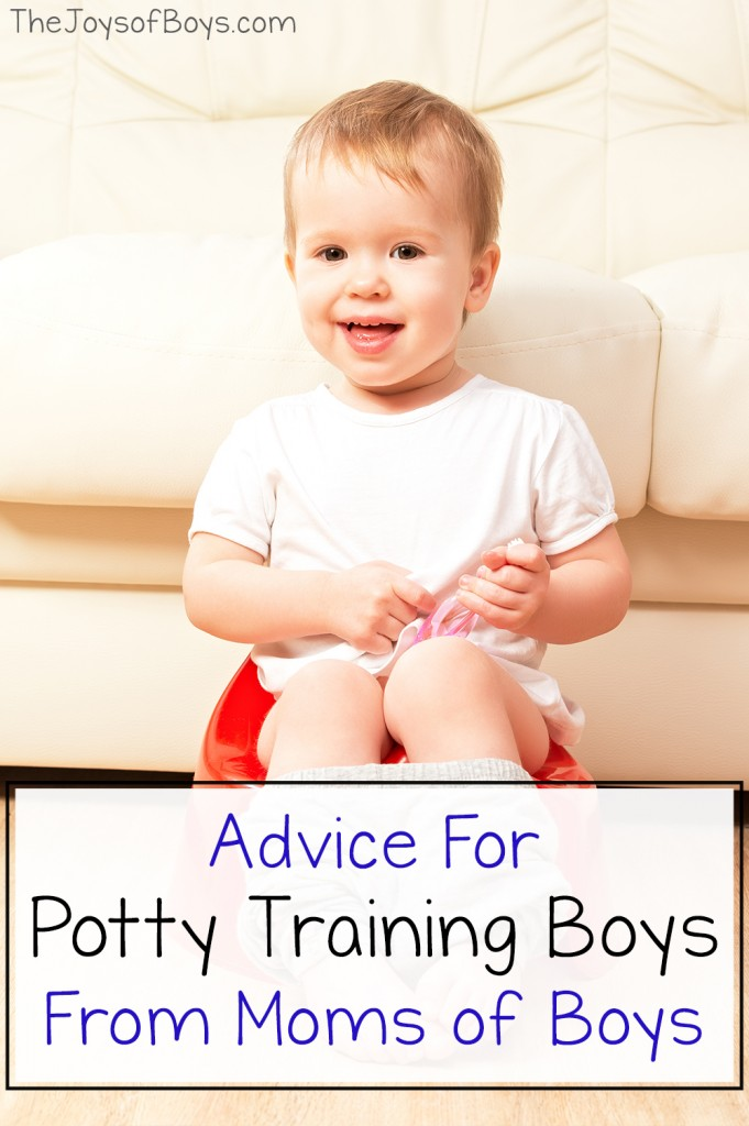 tips Potty Training Boys