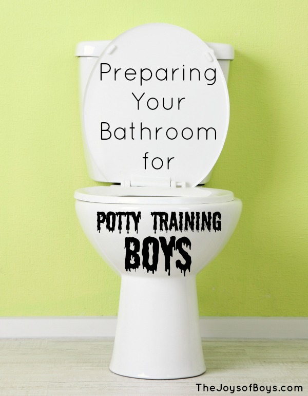 Preparing Your Bathroom For Potty Training Boys