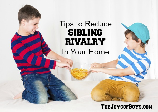 Reduce Sibling Rivalry