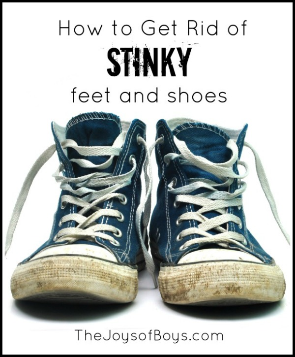 Get rid of stinky feet
