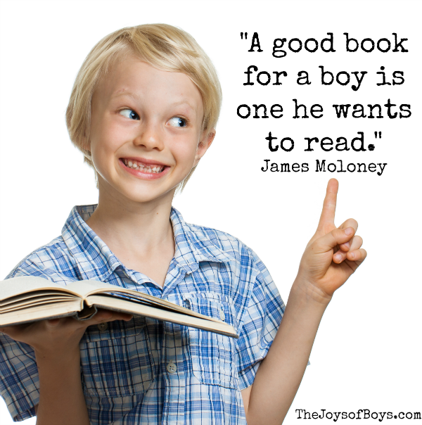 encourage boys to read