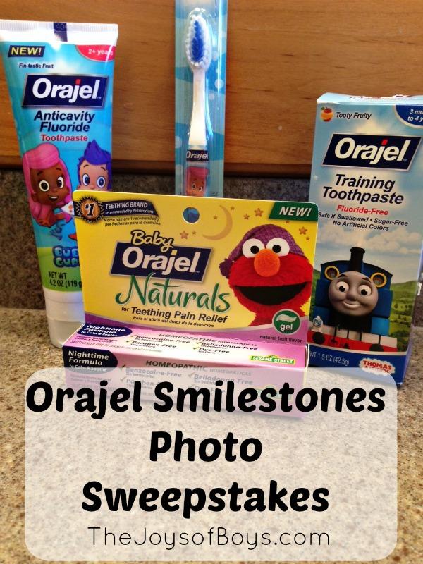 Orajel Smilestones
