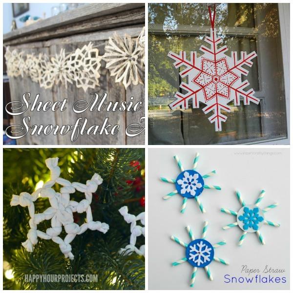 Snowflakes crafts