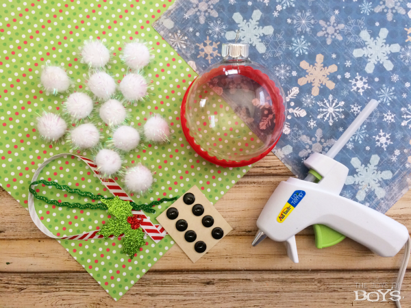 Snowman Ornaments Supplies
