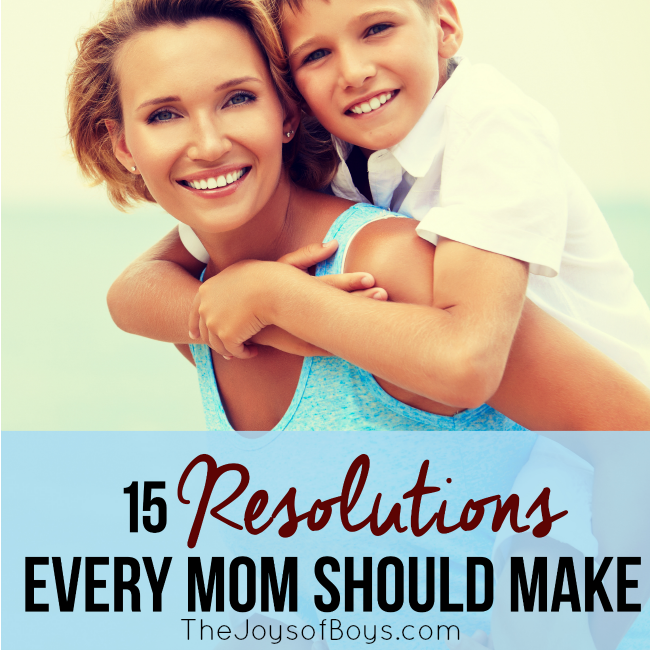 15 Resolutions Every Mom Should Make