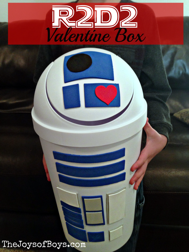 r2d2 valentine box - Valentines Day Boxes For Boys