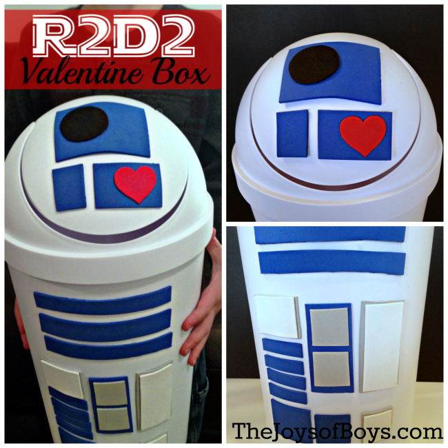 r2d2 valentine box - Valentines Boxes For Boys