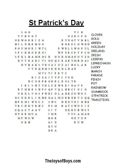 St_Patricks_day_word_search update