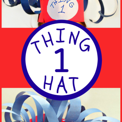 Thing 1 Hat