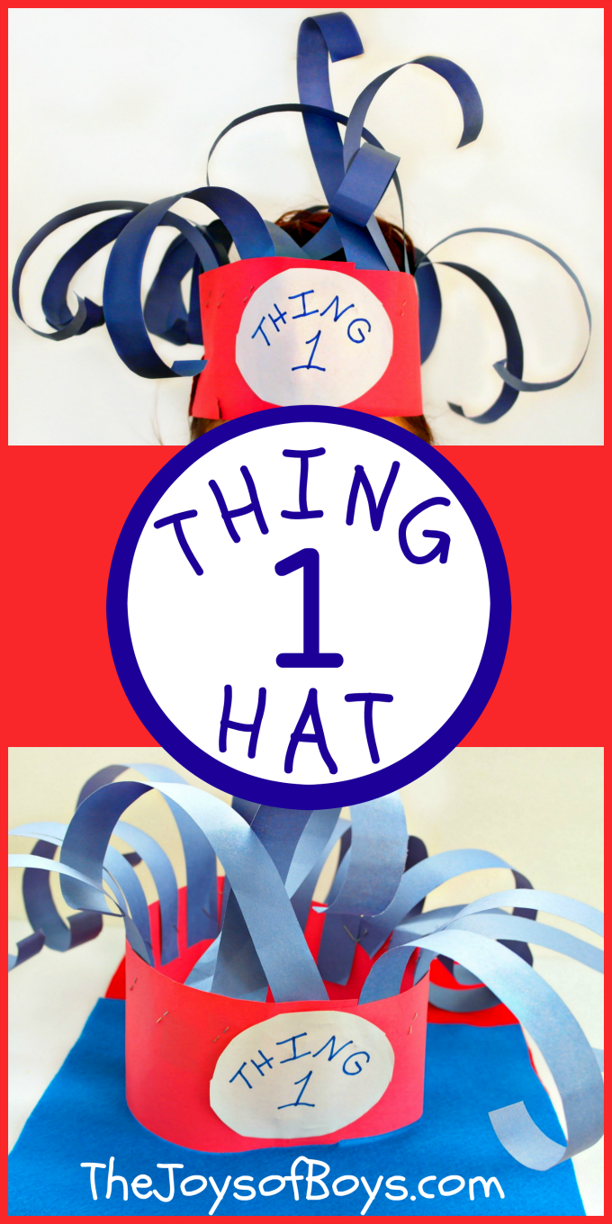 Dr Seuss Characters Craft
