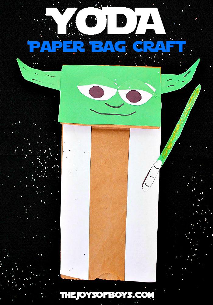 Yoda Puppet Craft