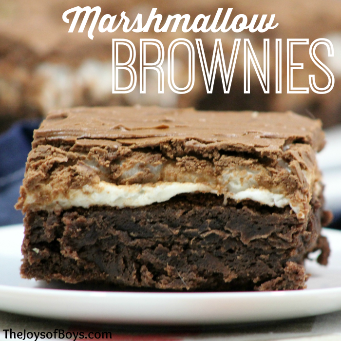 How to make Marshmallow Brownies