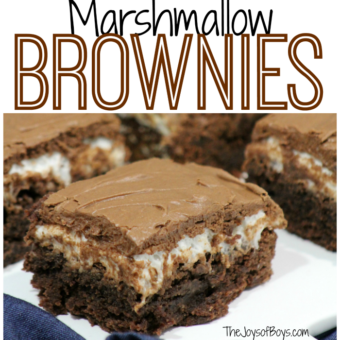 marshmallow brownies sq