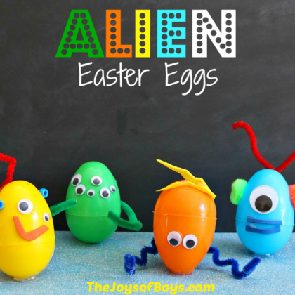 Alien Easter Eggs