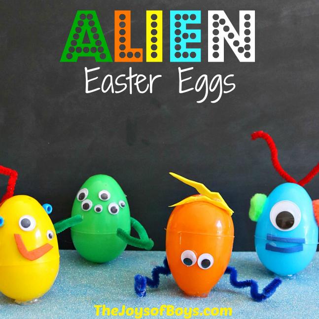 Alien Easter Eggs