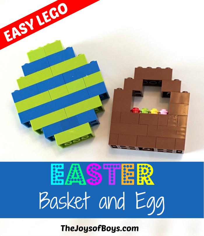 Lego Easter Basket And Egg Easy Lego The Joys Of Boys