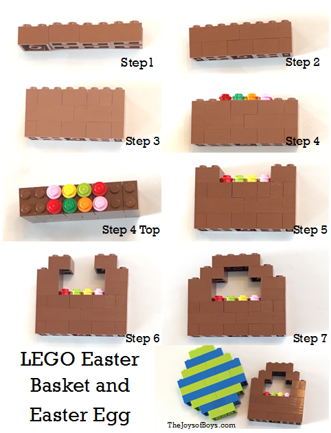 LEGO Easter Basket and Easter Egg Challenge