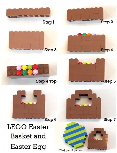 LEGO Easter Basket and Easter Egg Challenge