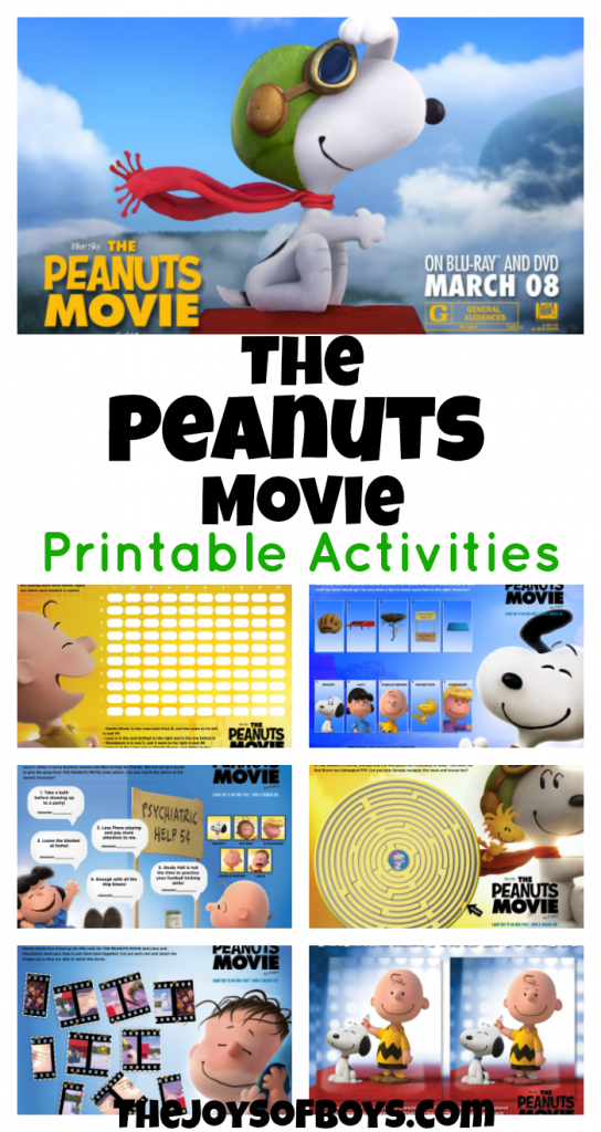 The Peanuts Movie Activities
