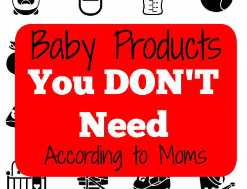 Baby Products You DON'T need!