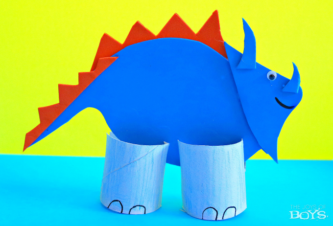 Dinosaur craft kids
