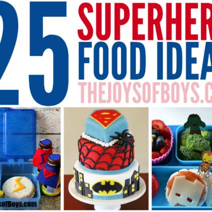 superhero food ideas