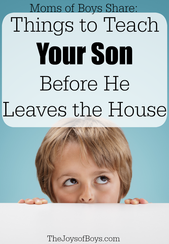 Things to Teach your Son