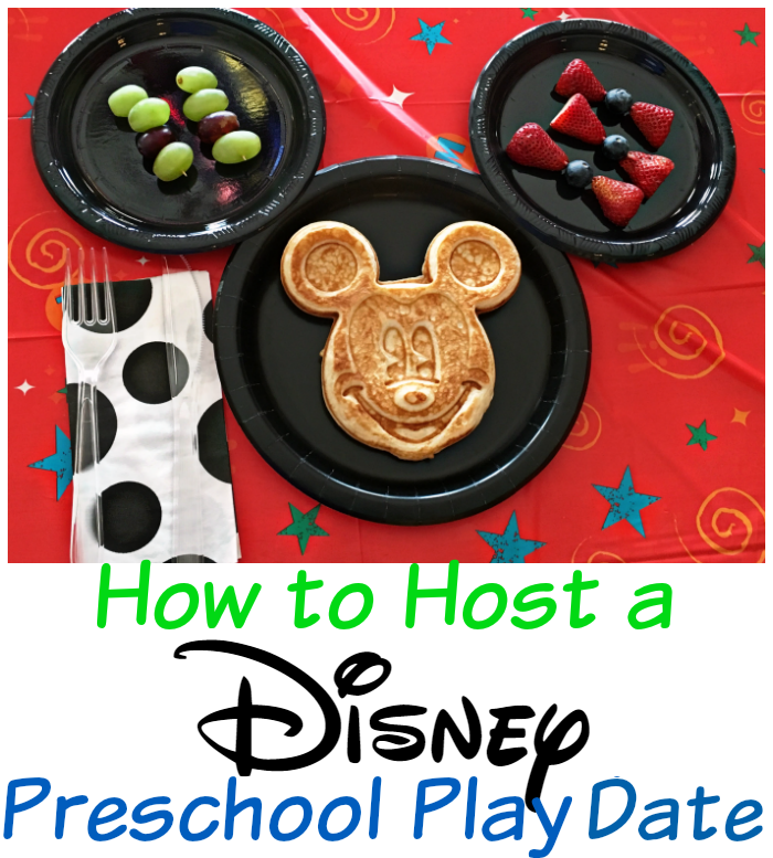 Disney Preschool Play Date Brunch
