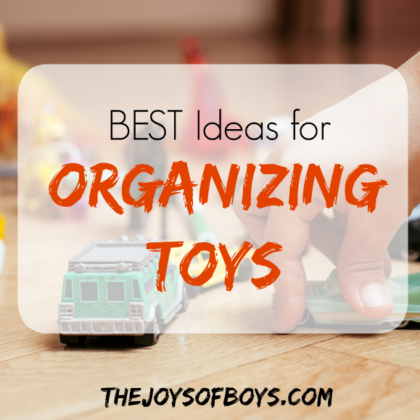Ideas for organizing toys