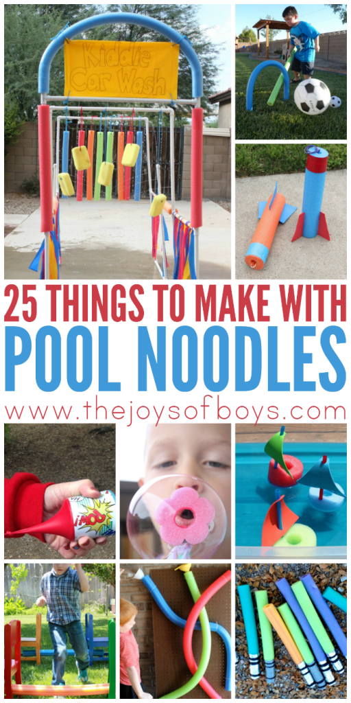 Things to Make with pool noodles