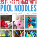 Things to make with a pool noodle