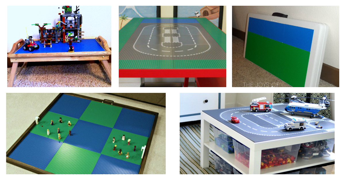 25 Diy Lego Tables The Entire Family