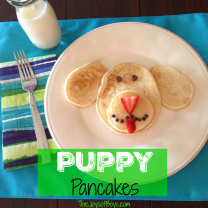 Puppy Pancakes Recipe