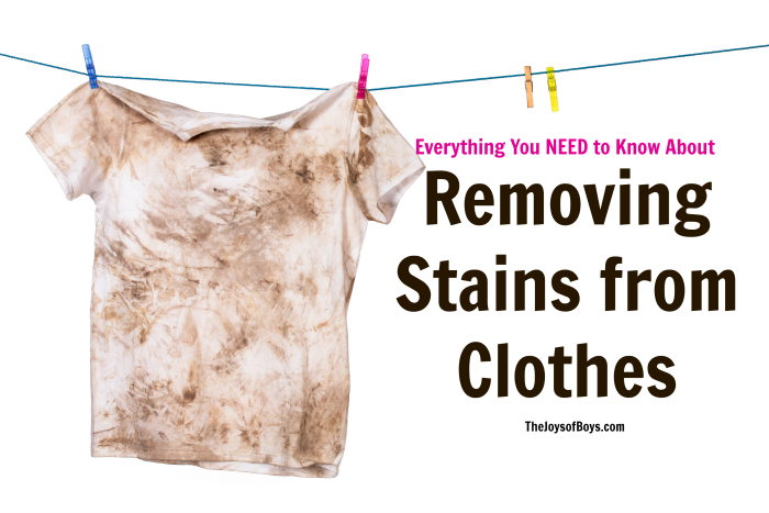 How To Remove Stains From Clothes Everything You Need To Know