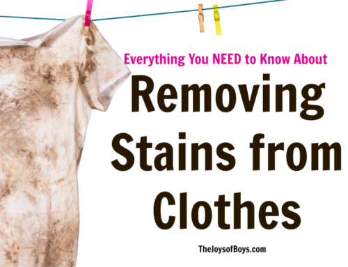 Remove Stains From Clothes: Everything You NEED to Know