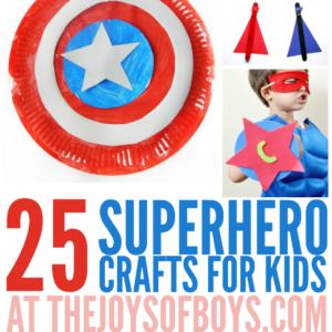 Superhero Craft Ideas