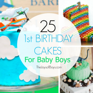 First Birthday Cakes for Boys